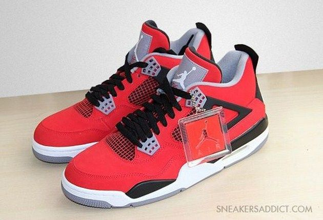 "Air Jordan IV ""Red Nubuck"" (Holiday 2013) photos"
