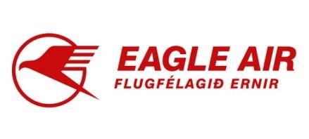 Eagle Air of Iceland Logo. (ICELANDIC).