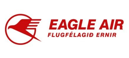 Eagle Air of Iceland Logo. (ICELANDIC).