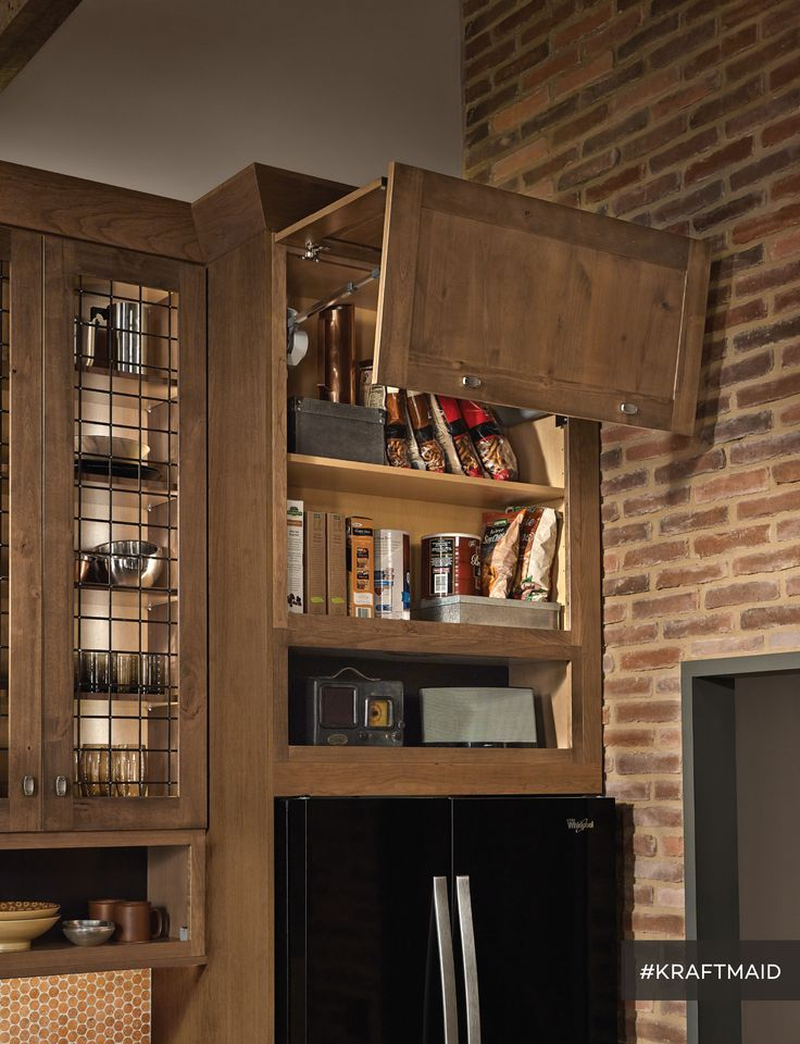 Auto Open Kitchen Cabinets Are Easy To Open And Close With A Push Of A