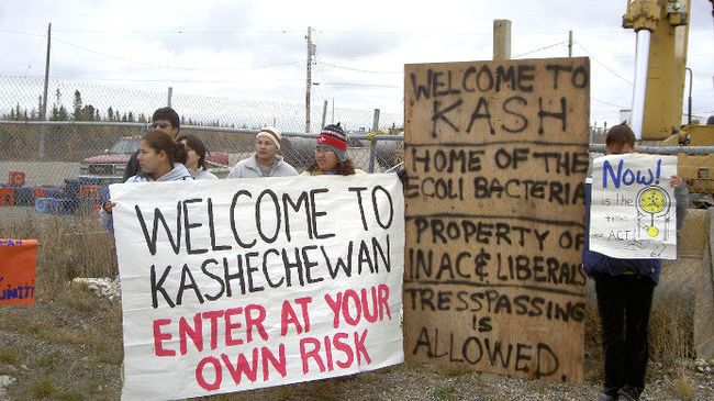 Petition · Kathleen Wynne: Help the Kashechewan First Nations Reserve get access to clean water · Change.org