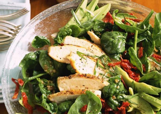 Chicken, Asparagus, & Avocado Salad   Yummmmm   Pinterest