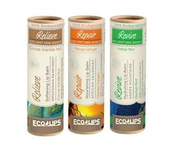 Organic lip balm gets #compostable packaging #sustainable #packaging