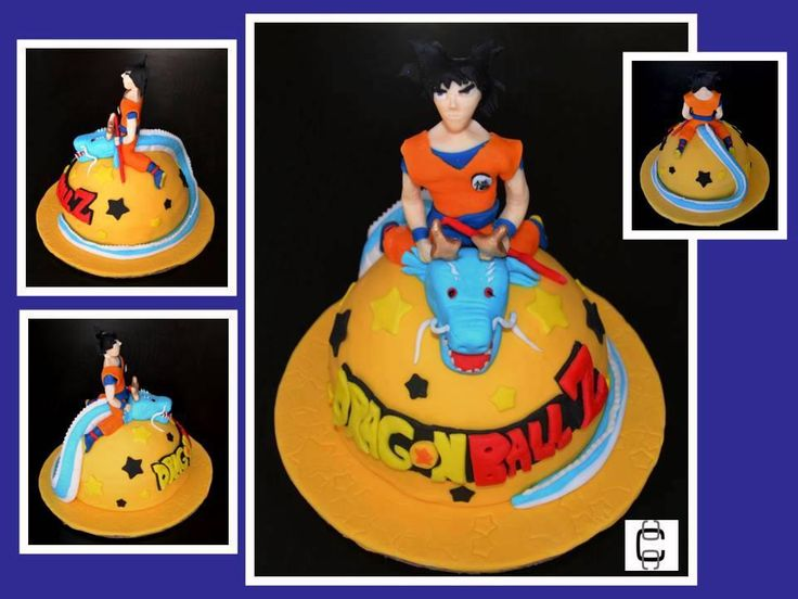 Torta dragon ballz on Pinterest | Dragon Ball, Goku and Dragonball Z