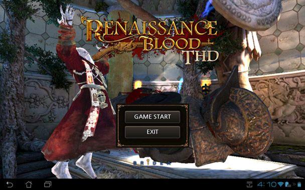 Renaissance Blood THD arriva su Google Play, ma solo per Tegra 3