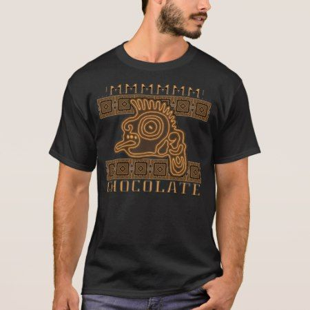 Aztec choco T-Shirt - click/tap to personalize and buy