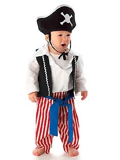 Baby Pirate Costume by Mullins Square