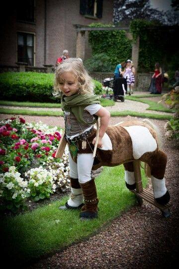 how to make a centaur costume