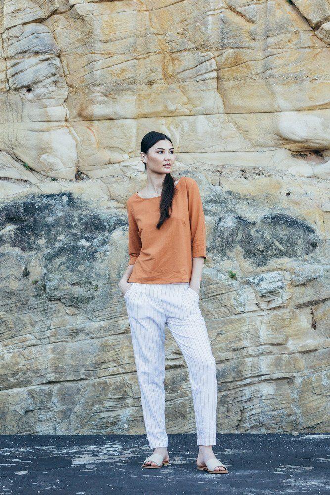 Arabian Top - Peach | Carlieballard