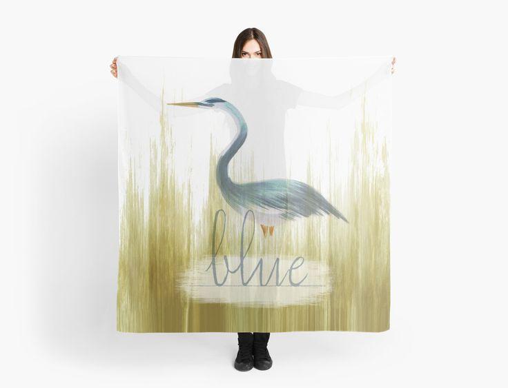 Blue Heron  by Sandra Dionisi