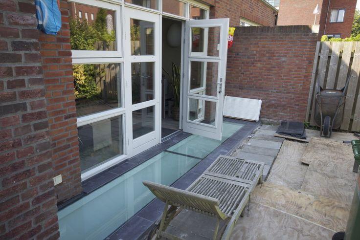 Beloopbaar glas - souterrain Onder de woning in Maarssen   Ruimer Leven