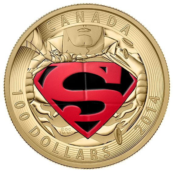 14-Karat Gold Coin - Iconic Superman™ Comic Book Covers: The Adventures of Superman
