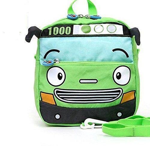 TC Little Boys' Lovely Bus Backpack (Green) ---> READ MORE INFO @: http://www.best-outdoorgear.com/tc-little-boys-lovely-bus-backpack-green-2/
