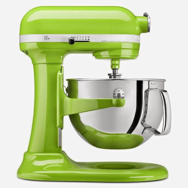 KitchenAid Bowl Lift Stand Mixer (Green Apple)