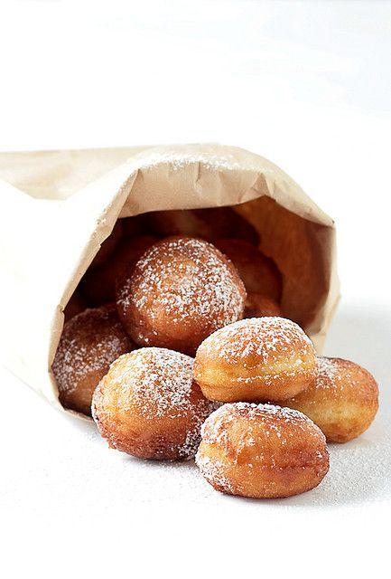 meyer lemon sour cream donuts: Sour Cream, Cream Donuts, Sweet, Recipe, Food, Meyer Lemon, Cream Doughnut, Dessert, Lemon Sour