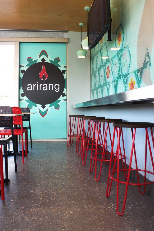 Arirang Korean Barbeque ECU Joondalup Perth Western Australia Interior Design Graphic Sign