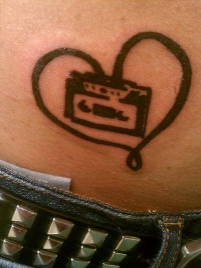 casette tape heart