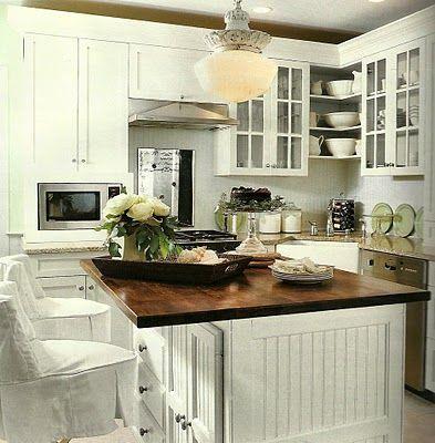 Stylelinx: Reclaimed wood countertops