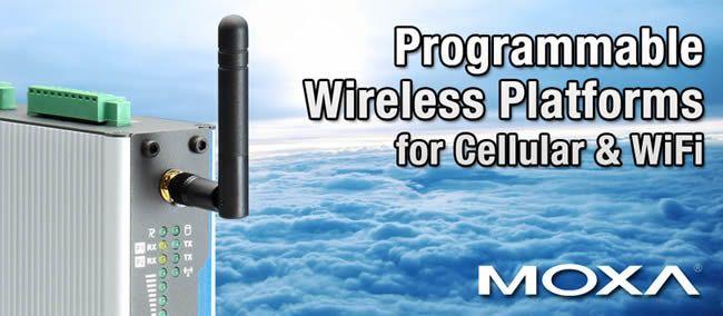 Programmable Wireless Platforms for Cellular & WiFi - Moxa