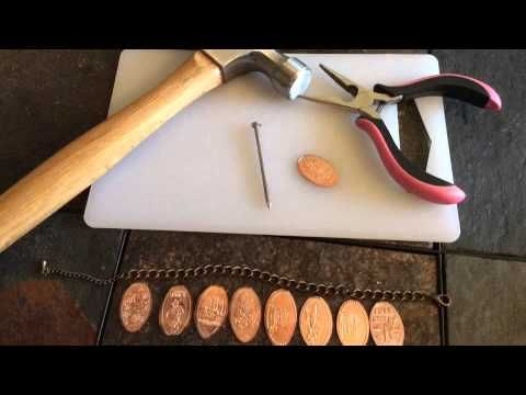 How To Make A Pressed Penny Bracelet! (+playlist)