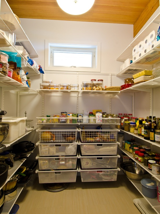 Can I Put These Kind Of Pull Out Shelving Drawers Downstairs In The Cold  Storage Room