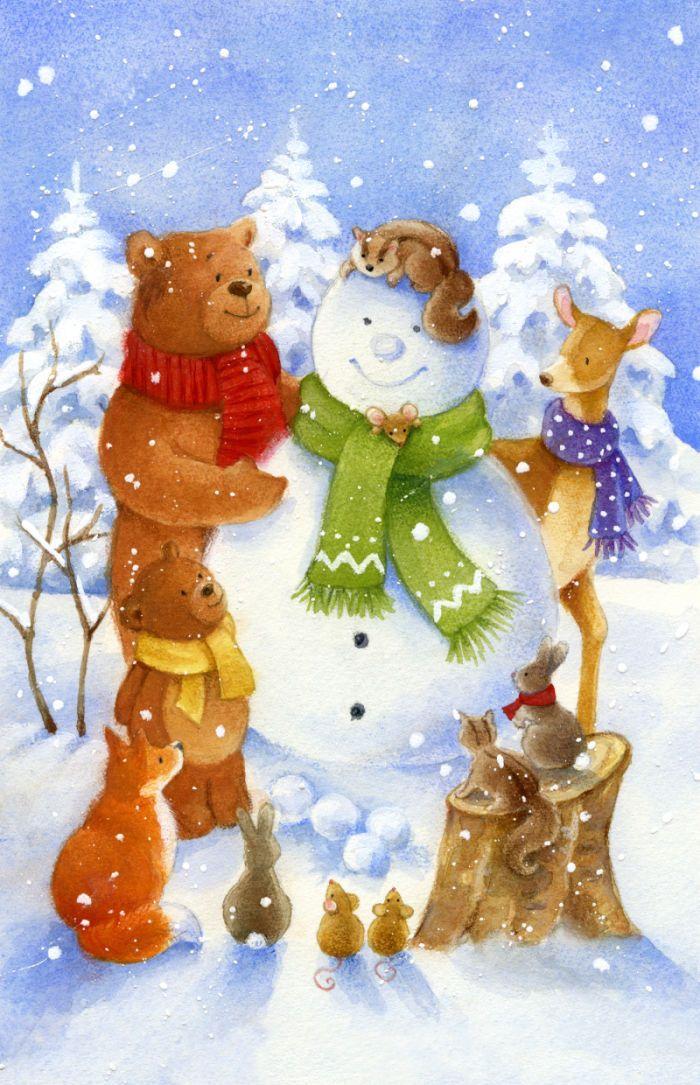 Lisa Alderson - woodland christmas  1.jpg