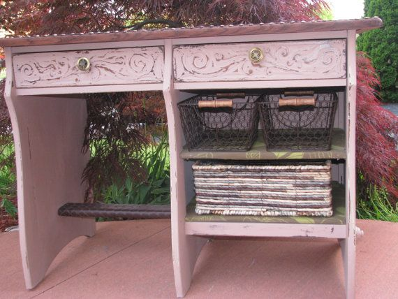 The Drake early 1900s remodelled desk by VictorianRehabDesign, $250.00