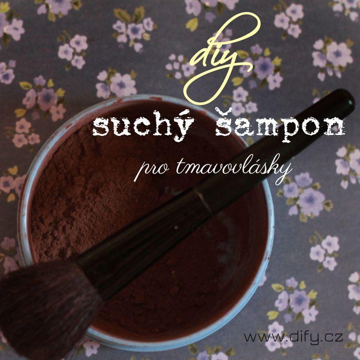 Recept na domácí suchý šampon pro brunety (jednoduché recepty na DIY kosmetiku)