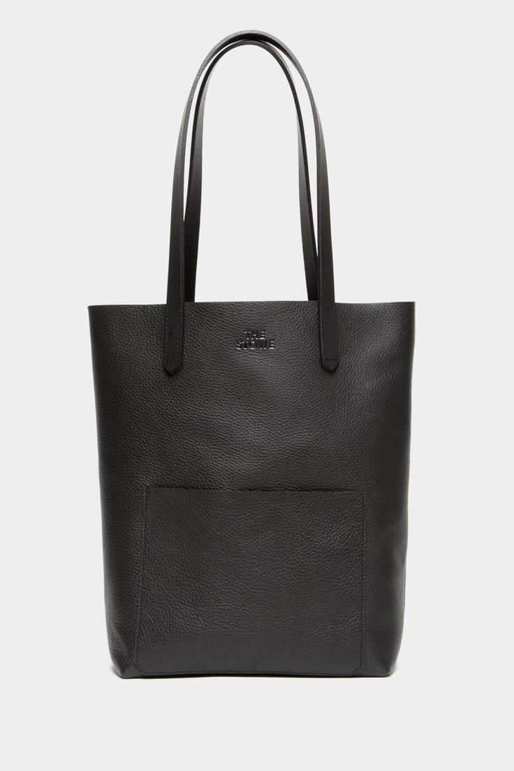 The Stowe Heather Leather Tote