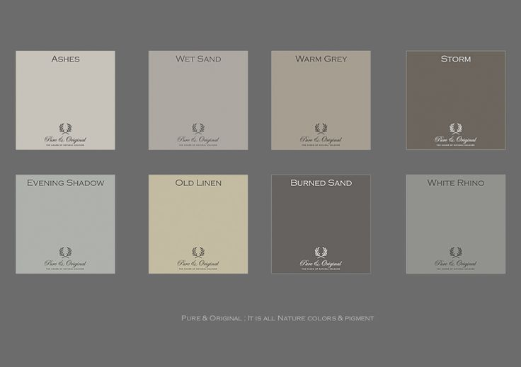 Some colors for you living room, bedroom of a other room in your house. All colors always made with 100% mineral pigments. Visit our website for more colors.