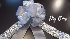 How to make a double bow | DIY Christmas Bow
