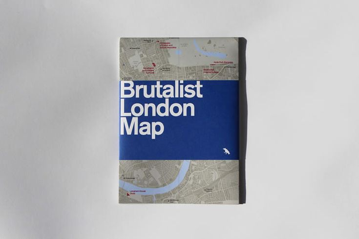 The gifts of Brutalism to London's landscape celebrated in new map for architecture obsessives...