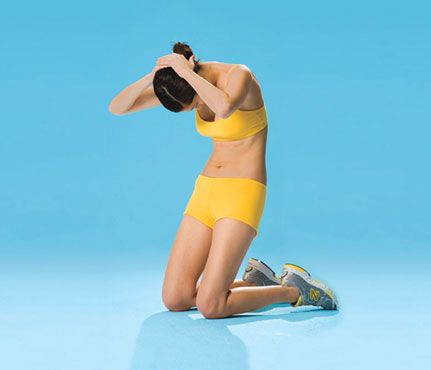 Faster-Than-Ever Flat Abs: No Equipment Needed: Self.com:Standard crunches work the rectus abdominis, the sheet of muscle between the ribs and pelvis, but to truly sculpt your abs, it's key to engage your entire torso. These magic moves do just that.