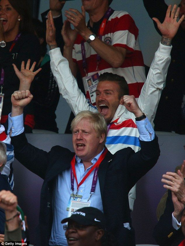 Yes! The footballer was ecstatic to witness the Team GB triumph earlier this evening