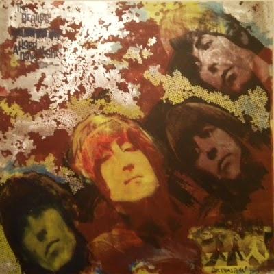 "Guldenstern ""The Beatles"", 2003 Mixed Media on Aluminium"
