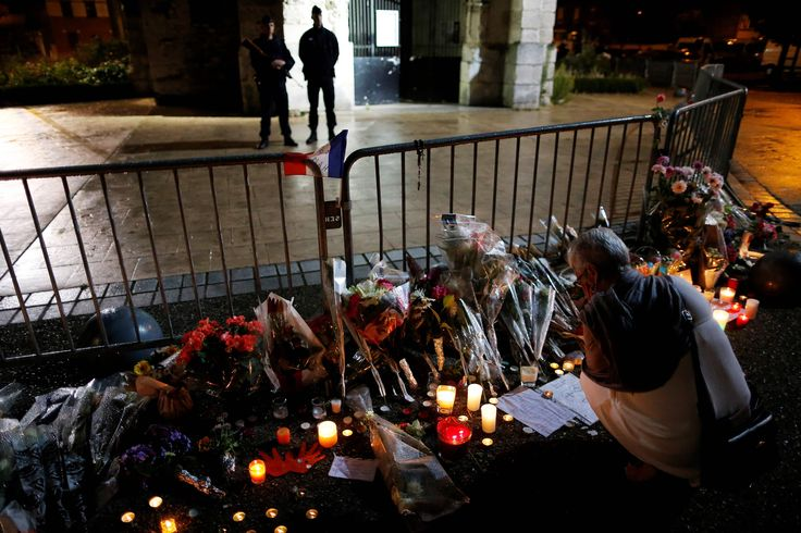 Terrorist attack on French church ignites fears of religious culture wars