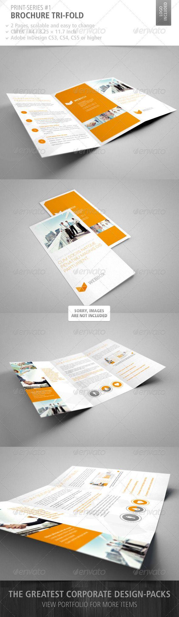 Brochure Tri-Fold Print-Series #1
