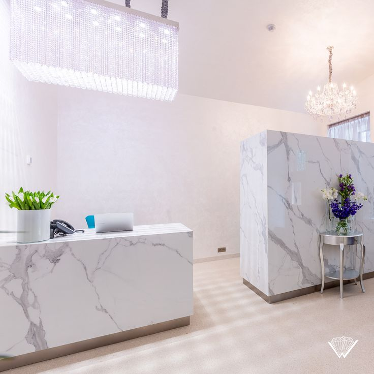 Wranovsky modern and traditional crystal chandeliers in the reception of Myo Hotel Wenceslas.