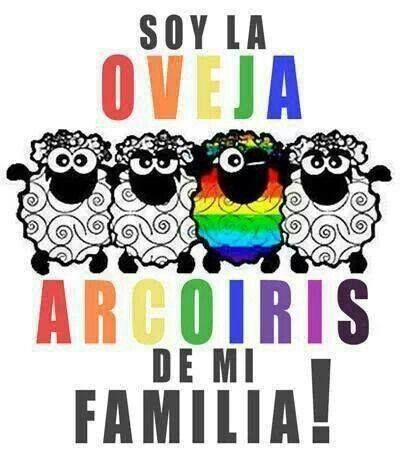 la negra? naaaa! La arcoiris !!!