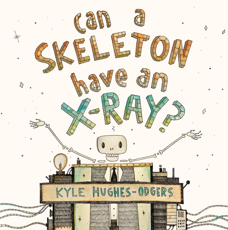 """Can a Skeleton have an X-Ray?"", by Kyle Hughes-Odgers.  How does sound taste? Do colours smell? Why do onions make me cry? Who builds the wings for birds to fly?  From the practical to the philosophical, this book is guaranteed to fire young imaginations!"