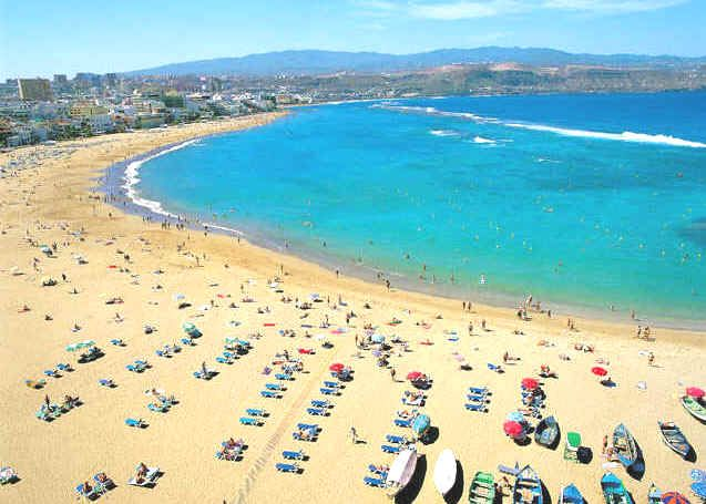 the beaches of Gran Canaria