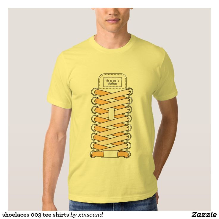 shoelaces 003 tee shirts