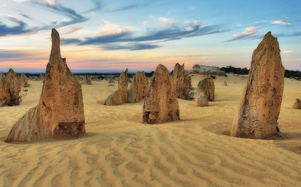28 Photos From Most Unusual Landscapes Around The World,Pinnacle Desert, Australia