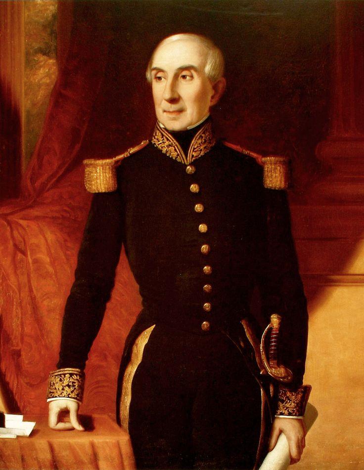 MANUEL BLANCO ENCALADA (1790-1876). Militar, político y diplomático chileno que llegó a ser el primer comandante de la escuadra nacional de Chile, y el primero en ostentar el cargo de presidente de Chile.