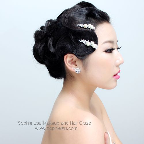 Asian Bridal Hairstyle : 138 best sophie lau makeup and hair lesson images on pinterest