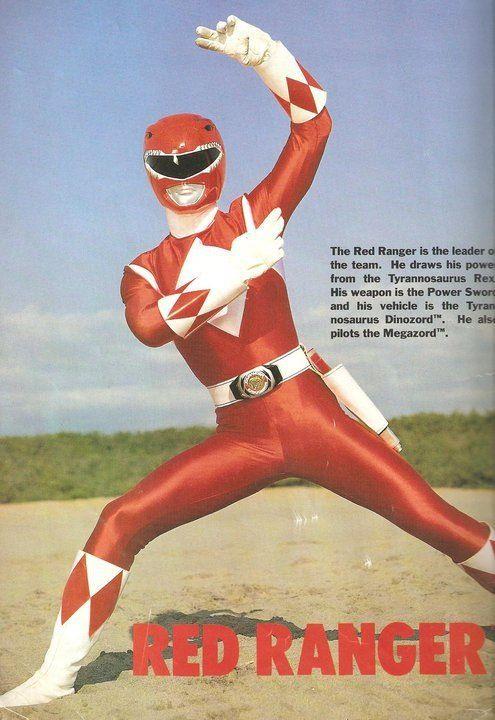 Jason/Red Ranger- Mighty Morphin' Power Rangers ~ Sam was always the red power ranger.