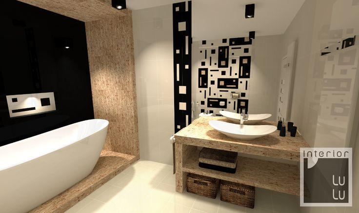 Oryginalna łazienka nowoczesna