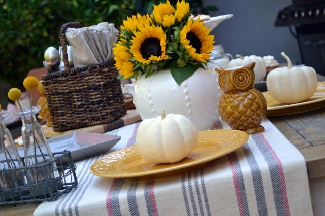 Create a beautiful tablescape that's ready for Fall with great items from @Cost Plus World Market, just like @Ashley Stock did. #WorldMarketHGTV