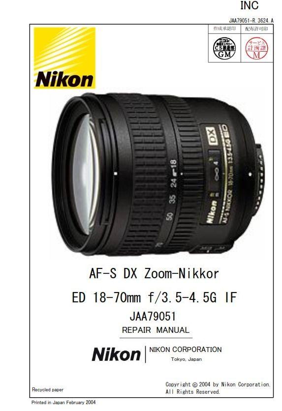 Pin On Nikon Service Manuals
