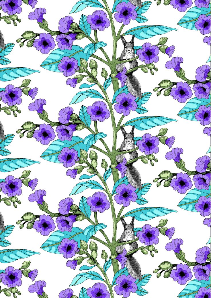 Toivo (violet) - By Tanja Orsjoki
